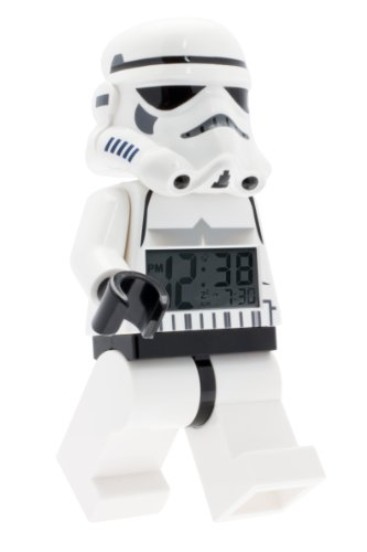 (LEGO LEGO Star Wars Stormtrooper minifigure alarm clock (Model: 9002137) )