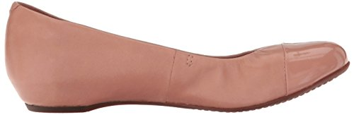 Clarks Mujeres Alitay Susan Flat Dusty Pink Leather