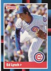 1988 Donruss Baseball Card #77 Ed Lynch Mint ()