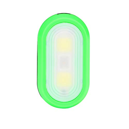 Haluoo LED Safety Light Clip On Clothes LED Flashlight Lamp Night Light for Hiking Dog Walking Running Emergency Sports Outdoors Camping (Green)
