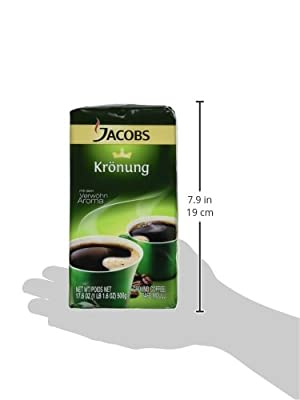 Jacobs Kronung, 17.6 Oz. Ground Coffee (6 Pack) by Jacob's
