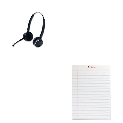 KITJBR946569804105UNV20630 - Value Kit - Jabra PRO 9465 Binaural Over-the-Head Wireless Headset (JBR946569804105) and Universal Perforated Edge Writing Pad (UNV20630) by Jabra
