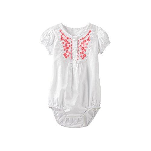 OshKosh BGosh Print Bodysuit (Baby) - White-18 Months