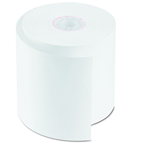 "PM Company 07701 Single Ply Cash Register/POS Rolls, 2 3/4"" x 150 ft., White (Case of 50)"
