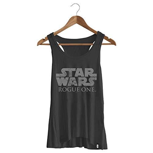 Camiseta Feminina Star Wars Rogue One Logo
