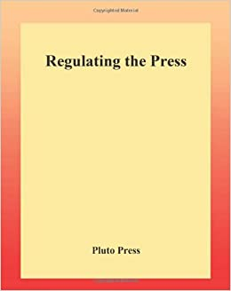 Book Regulating the Press