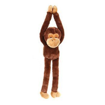 One-Large-Hanging-Velcro-Hand-Stuffed-Animal-Plush-Monkey-by-Adventure-Planet