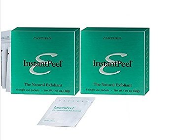 Earthen Instant Peel Natural Dead Skin Remover - 2 Pack