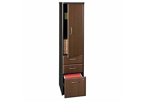 Bush Cherry Locker (Series A Vertical Storage Locker - Assembled Dimensions: 16.125