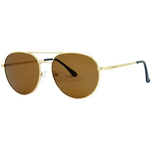 Óculos Solar, Hang Loose, Dourado