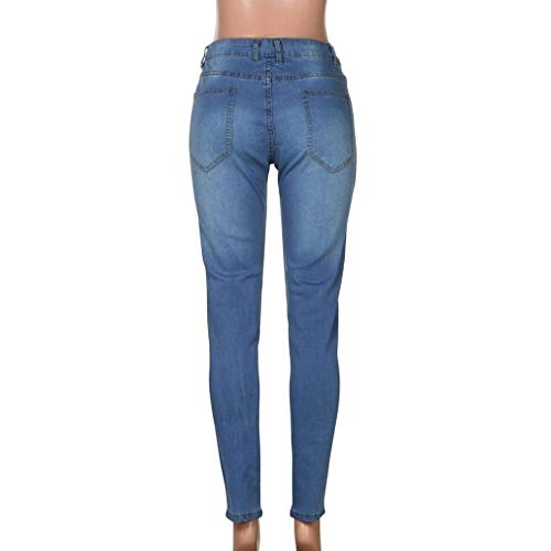 Estilo A Slim Uomo Matita Stretch R Fit Especial Hellblau Jeans Dritti Skinny Pantaloni nvXq1YXZ