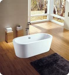 Neptune Amaze 60 39 Freestanding Oval Bathroom Tub Az3260os Soaking Tubs