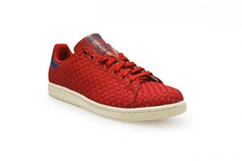 Scuro Adidas Rosso Scarpe Smith Rosso Ba8445 da Ginnastica Uomo Basse Stan Blu w4Uqwp