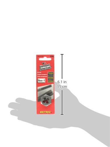 Vermont American 21233 8mm to 1.00 High Carbon Steel Metric Heby Die