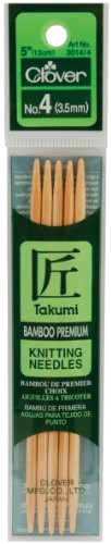 CLOVER Takumi 5-Inch Double Point, Size 4
