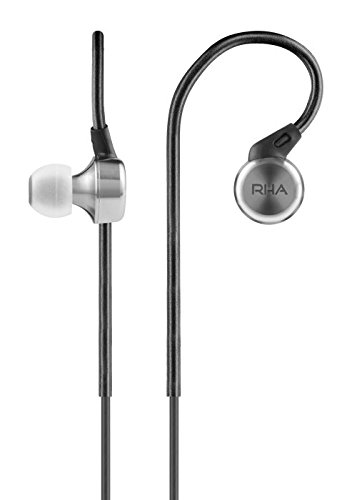RHA MA750: Hi-Res Stainless Steel Noise Isolating In-Ear Headphones with Ear Hooks