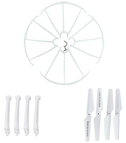 Dynamic Aerial Systems Accessory Kit for X4 Spartan RC Quadcopter Drone (Propellers, Guards, Landing Gear)