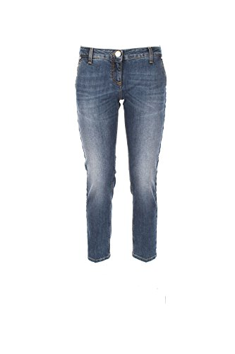 Jeans Donna Elisabetta Franchi 28 Denim Pj16j76e2 Autunno Inverno 2017/18