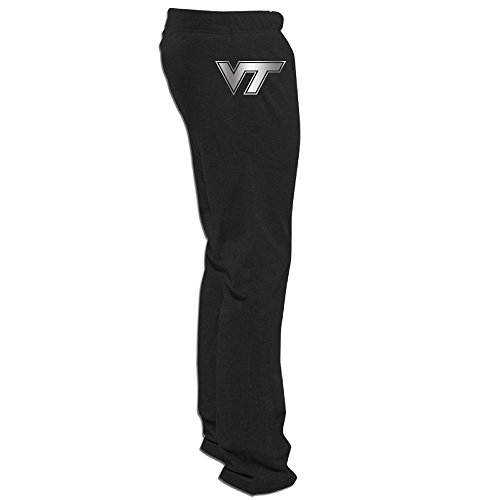Table Virginia Tech Hokies Billiard - Virginia Tech Hokies Platinum Logo Men's Fleece Pant Black
