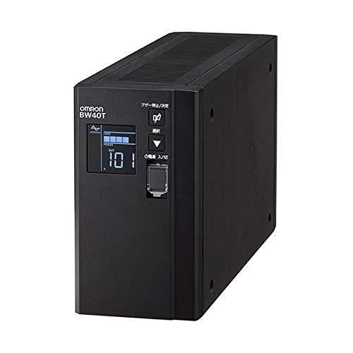 オムロン UPS無停電電源装置(常時商用給電/正弦波出力) 400VA/250W BW40T 1台 ds-2136147 B07MR1PG2R