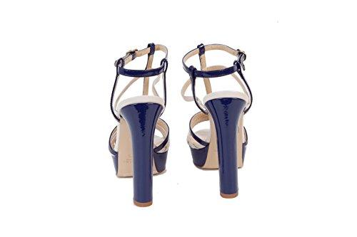 TWIN SET - Sandalias de vestir para niña Azul/beige