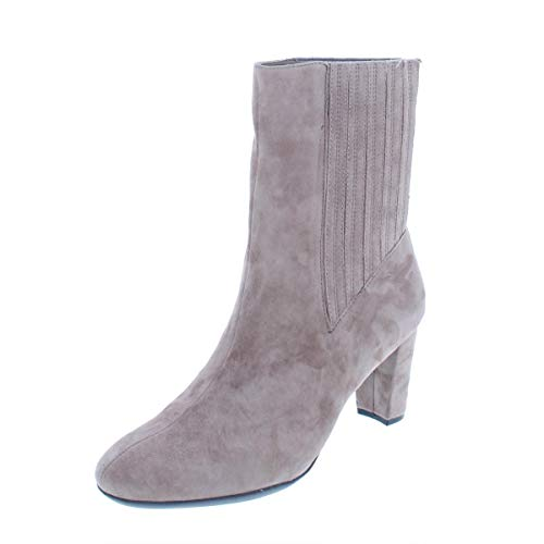 fth AVE Mid Calf Boot, Taupe Suede, 7.5 M US ()