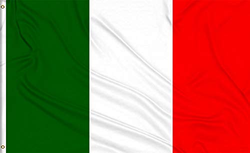 - Aimto 3x5 Foot Italy Flag - Nicely Stitched and Vivid Bright Color - Italian Flags Indoor & Outdoor