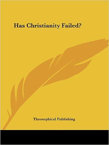 Book Has Christianity Failed?