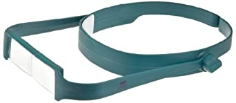 Aven 26225 OptiVue Headband Magnifier, 2.5x Magnification
