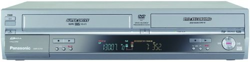 Panasonic DMR-EH75VS DVD Recorder / VCR Combo with 80GB Hard Drive, HDMI, SD Card, and DV Input (Renewed)