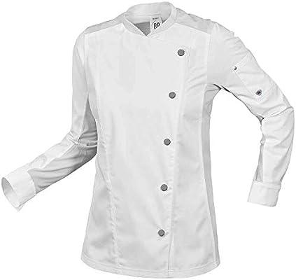BP 1594-485-21 Gourmet - Chaqueta de cocinero para mujer, algodón ...