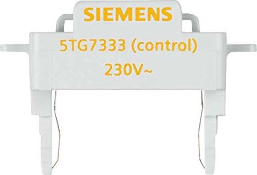 Siemens Indus.Sector GlimmLampe 5TG7333 Delta, 230V 0,9mA Beleuchtungseinsatz fü r Installationsschalterprogramme 4001869398143 delta mecanismos