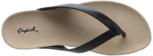 Chevy 01 Flip Black Qupid Sandal Flop Women's 1vSf6wq