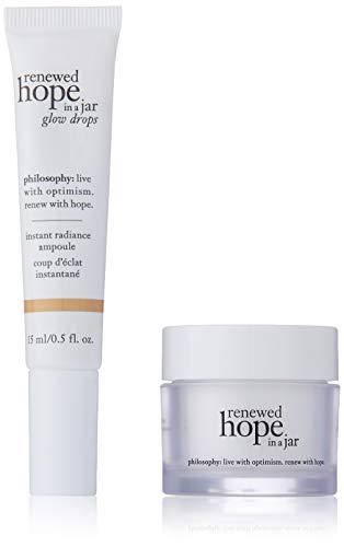 Philosophy - Renewed Hope In A Jar Refreshing & Refining Moisturizer (0.5 oz.) and Renewed Hope In A Jar Glow Drops (0.5 oz.)