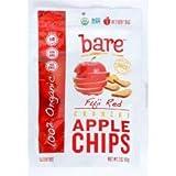 Bare Fruit - Organic Fuji Red Apple Chips (12-3 OZ) Organic Fuji Red Apple Chips