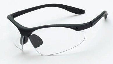 Crossfire Talon Safety Glasses HD Brown Lens - Matte Black F