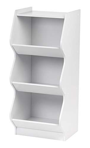 IRIS Scalloped Storage Shelf White