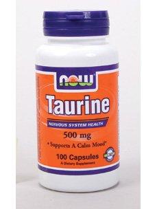 NOW Foods - Taurine 500 mg 100 gélules
