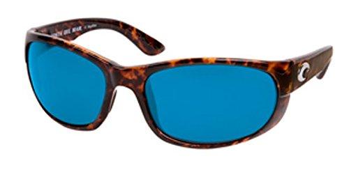 Costa Del Mar Howler 580P Howler, Tortoise Frame Blue Mirror, BLUE - Mar Costa Del Howler