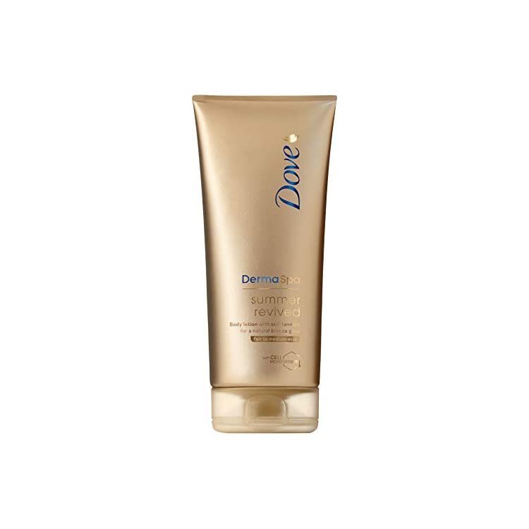 Dove DermaSpa Summer Revived Fair to Medium Self Tanning Body Lotion 200 ml