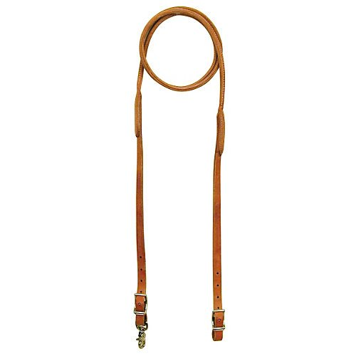 Reinsman Harness Leather Rounded Roping -