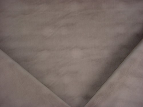 13RT11 - Silvery Grey / Pewter Faux Velvet Velour Transitional Designer Upholstery Drapery Fabric - By the Yard