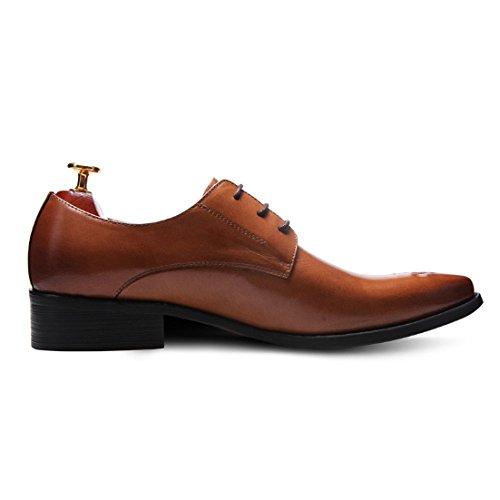 Moda Uomo Brown da Basso Affari con alla Moda Scarpe Comodo Scarpe Traspirante Scarpe Scarpe Scarpe Casuale Pelle in Tacco Oxford wpBfIq0