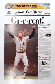 Detroit Tigers Memorabilia -