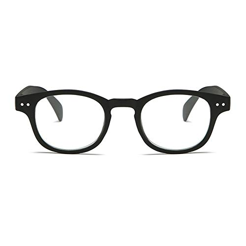 Anti-Blue Computer Reading Glasses, Blue Light Filter Eye Glasses, Blocking Uv Computer Glasses, Visual Aided Glasses, Female Male Reading Glasses,Black-+1.50