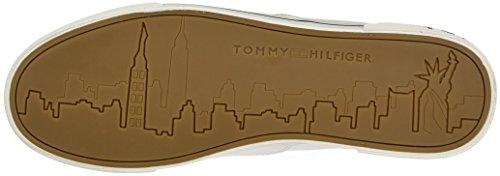 Tommy Hilfiger Y2285armouth 1d, Zapatillas para Hombre Blanco (Bianco)
