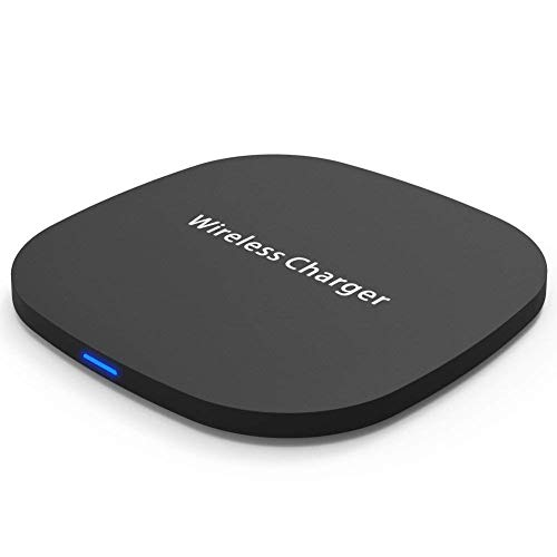Fast Wireless Charger, IKOS (2018 Upraded) Qi Wireless Charging Pad 10W Compatible withiPhone X/ 8/8 Plus, LG G6/ G3, Samsung S8/ S8 Plus/ S7/ S6, Google Nexus 7/6/ 5/4, and All Qi-Enabled Device