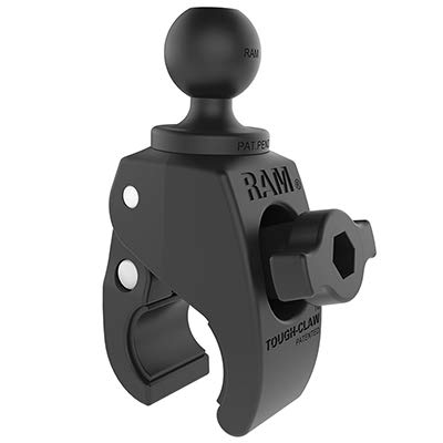 "RAM Mounts (RAP-B-400U) Small Tough-Claw with 1"" Diameter Rubber Ball from RAM MOUNTS"