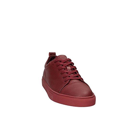 Uomo Red Carlos Basso a Guess Sneaker Collo wTfqX6Uz