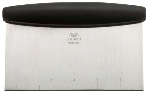 OXO Good Grips Multi-purpose Stainless Steel Scraper & Chopper (Good Grips Cutting Board compare prices)